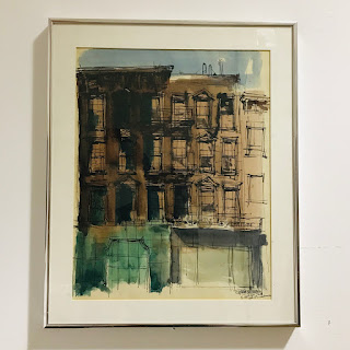 Robert Freiman Signed 55th St. Watercolor