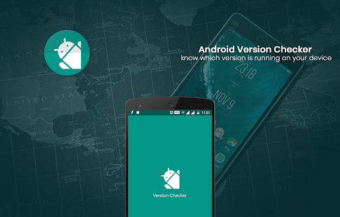 Version Checker for Android OS - náhled