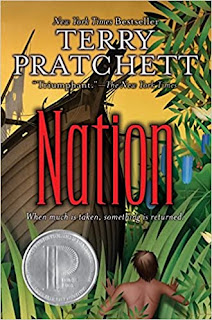 Cover of Terry Pratchett's book Nation
