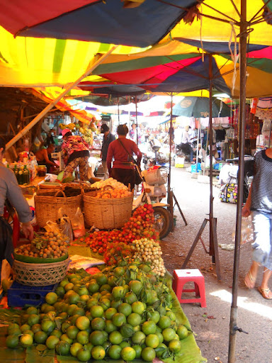 Local Market. The Definitive Guide to Moving to Southeast Asia: Cambodia
