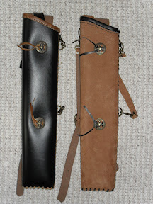 Quiver side and back Category I: Both for side and back combined quivers - these ones are for left hand shooters