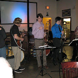 Will Call Sports Grill again played host to the Jazz Society's monthly Jazz Jam, and the music, as usual, was exciting, spontaneous and fun.  The first event of 2011 set a great tone for an outstanding line-up of events for the New Year!