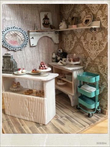 Kitchen miniature carrito auxiliar de ikea - Carrito auxiliar ikea ...
