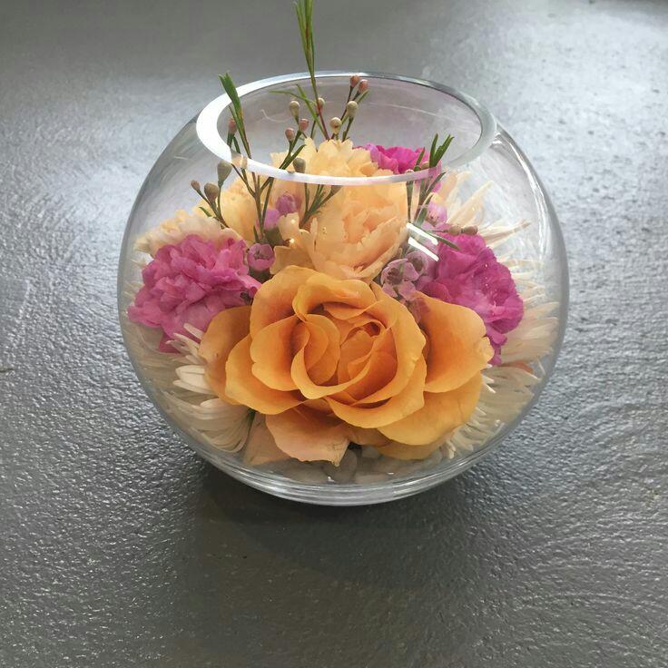 Hermosos Centros De Mesa De Flores En Peceras