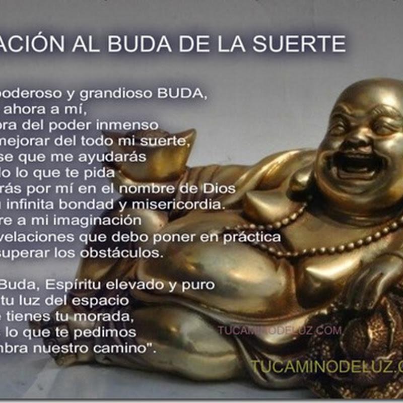 Rezo al Buda de la suerte