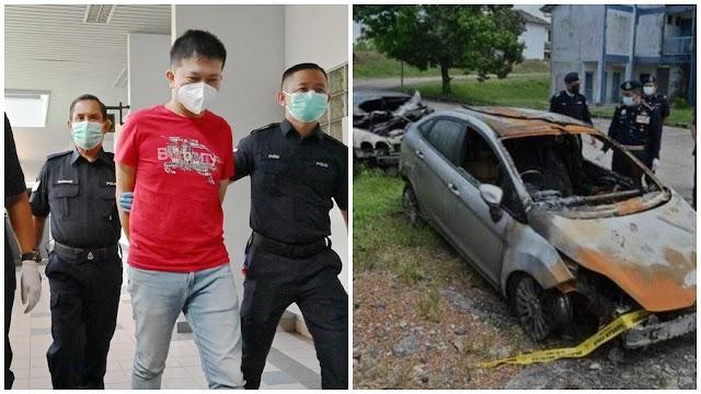 Peniaga barang lusuh bakar 3 kereta berdepan hukuman penjara 14 tahun