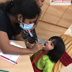 Dental Check-up of Sr Kg Section at Witty World, Chikoowadi (2018-19)