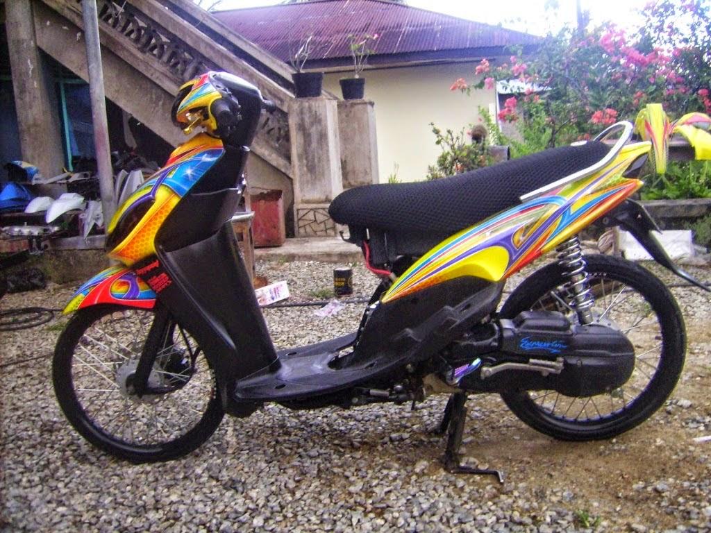 Modif Yamaha Mio M3