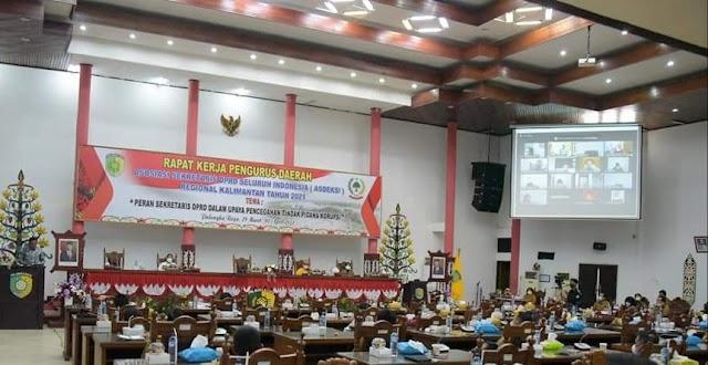Palangka Raya Tuan Rumah Raker Asdeksi Regional Kalimantan 2021