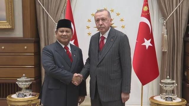 Prabowo Sepakati Perdagangan Pertanian Rp 146 T dengan Turki.