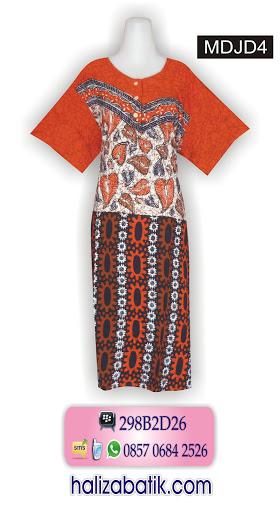contoh batik modern, model busana wanita, desain batik