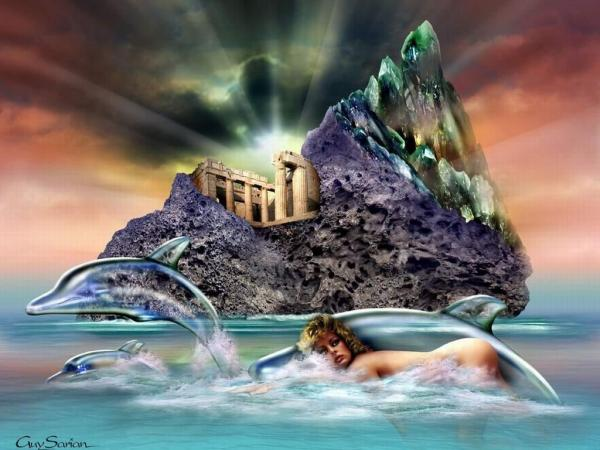 Dolphins Of The Sea Temple, Magic Beauties 3