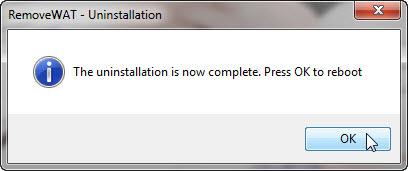 """วิธีแก้ไขเมื่อ Windows 7 เกิดอาการ """"จอดำ"""" RemoveWat004"""
