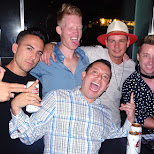 night out with the boys at the Thompson Hotel rooftop with DJ Andy Warburton in Toronto, Ontario, Canada