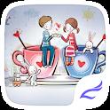 Cartoon Couple Theme icon