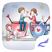 Cartoon Couple Theme