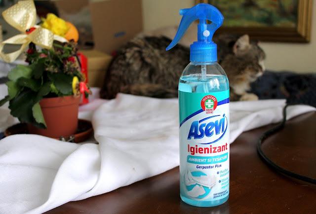 O casă curată cu produsele de curățenie de la Asevi