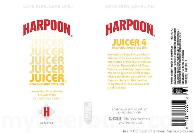 Harpoon - Juicer 4 New England Style IPA