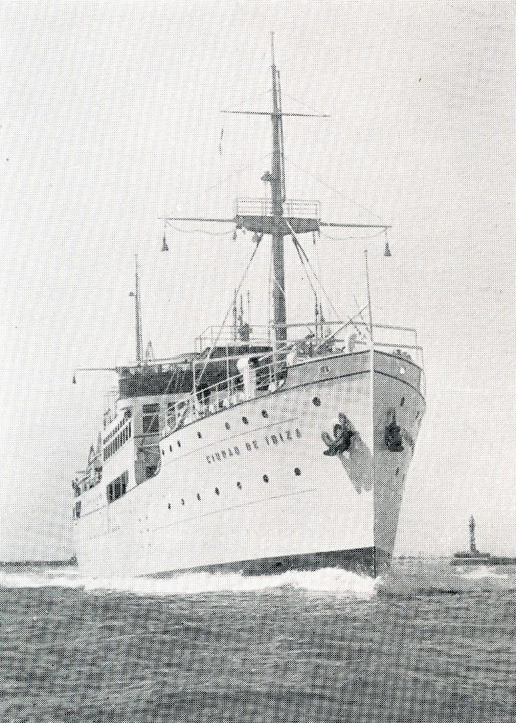 4- El CIUDAD DE IBIZA. Foto de la revista The Motor Ship. Edición mayo de 1933.jpg