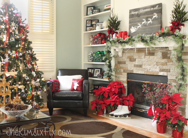 Traditional Red and Green Christmas Decor