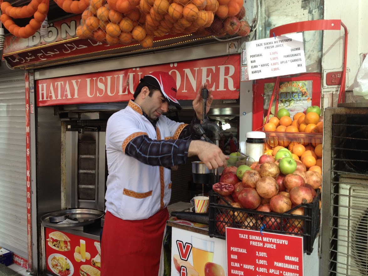 Zumo de naranja Estambul