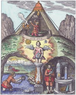 The Great Work Of The Alchemists, Emblems Related To Alchemy