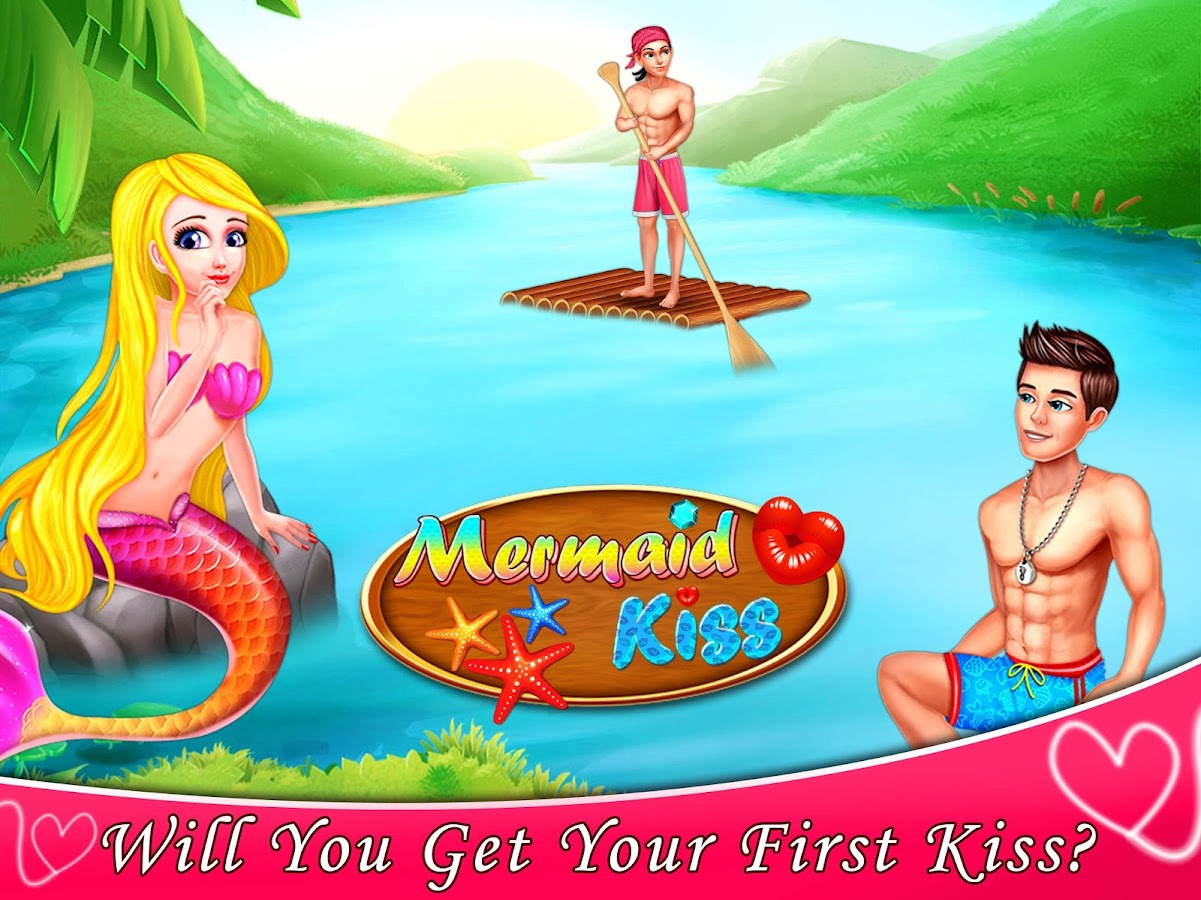 Mermaid Kiss - Mermaid Romance Girls Game - Android Apps ...