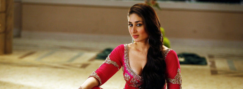Kareena Kapoor in agent vinod facebook cover
