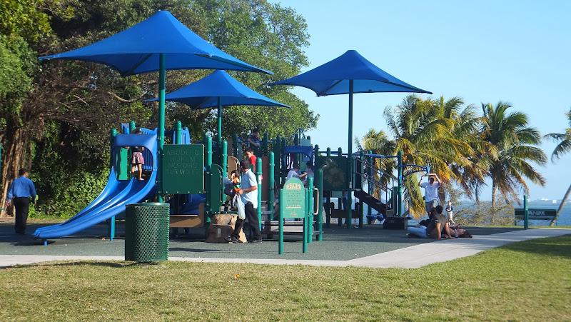 Espacio de juegos, Alice Wainwright Park, Miami