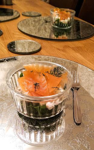 Inverawe Smoked Oak Smokehouse, Smoked Salmon, Celeriac, remoulade