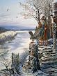 Vsevolod Ivanov A Druid Of The Falcon God