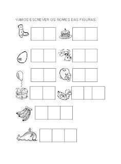 Atividades com a Letra B educaçao para crianças imprimir