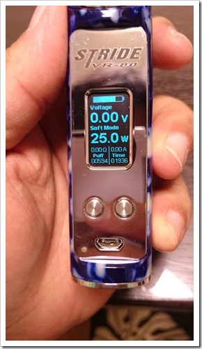 DSC 0153 thumb%25255B3%25255D - 【MOD】VR STRIDE 80W BOX MOD by Vapor Range(ASMODUS)レビュー!【寄稿:Cさんより】