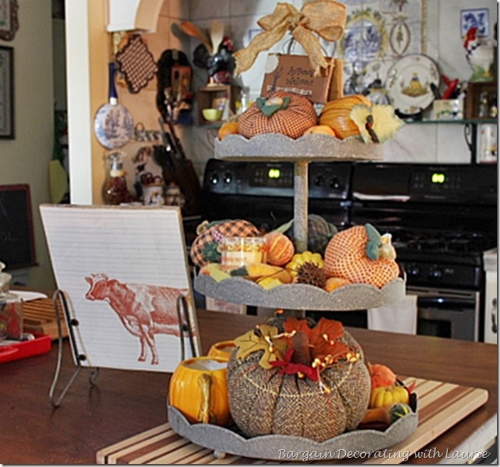 Fall touch in kitchen