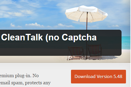 Spam Protection by CleanTalk (no Captcha Anti-Spam)