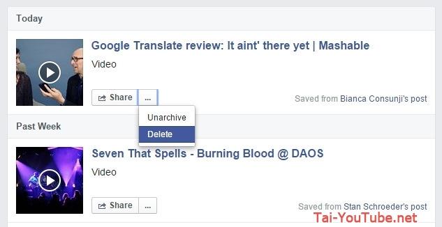 Cách lưu nội dung Facebook để đọc sau với Facebook Save - Hình demo 7