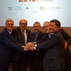 Inaugurazione@CNU 2016 Modena e Reggio Emilia