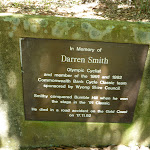 In Memory of Darren Smith (Olympic cyclist) on Greta Road (367844)