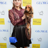 WWW.ENTSIMAGES.COM -   Rosie Fortescue   arriving at       A Date With Your Dog in Honour of Clarissa Baldwin OBE at George Club, London September 9th 2014Celebrities attending The Dog's Trust party in honour of their chief exec Baldwin.                                                 Photo Mobis Photos/OIC 0203 174 1069