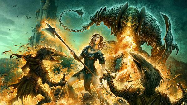 Pleasant Murderer From Underworld, Magick Warriors 3