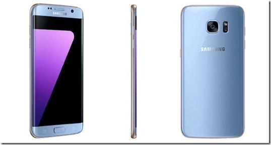Samsung Galaxy S7 Edge Blue Coral Sudah Tersedia di Indonesia