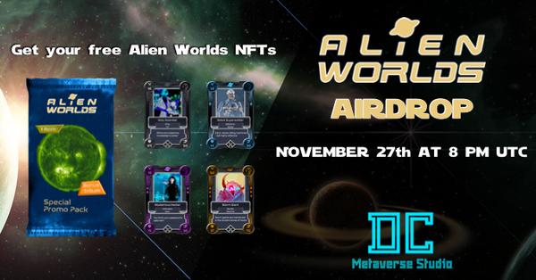 alien worlds airdrop