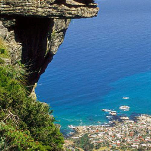 African Traveling Cape Towns Rocky Charm