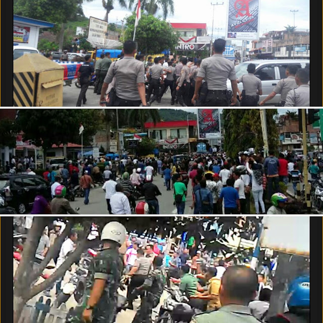 Ini Kabar Terakhir, Situasi Pasca Bentrok TNI vs Polisi di Pos Kota Sungai Penuh