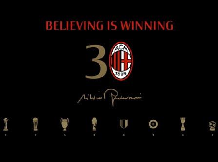 Berlusconi, Milan và 30 năm...