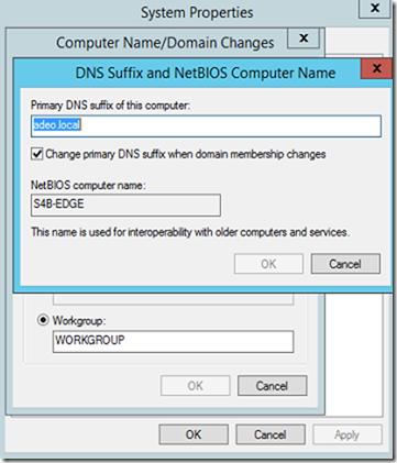 2- Skype for Business Edge server deployment and Hybrid