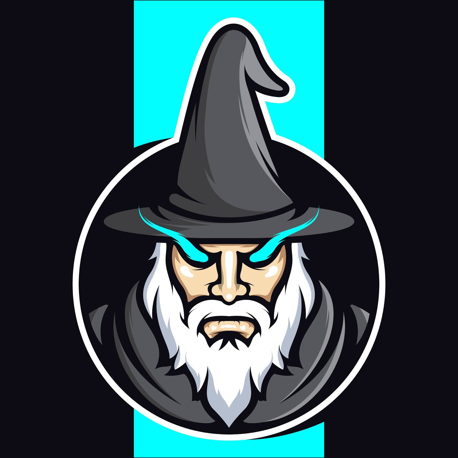 Wizard Esports Logo Design Free Download Vector CDR, AI, EPS and PNG Formats