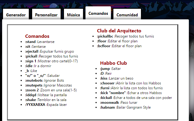 Habbo Tools Chrome Web Store