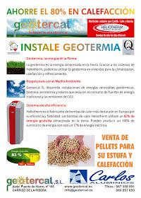 Ahorre un 80% en calefacción: geotercal.es