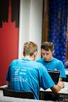 Polish team Codejoy during EUhackathon 2014 at Googleplex in Brussels, Belgium on 02.12.2014